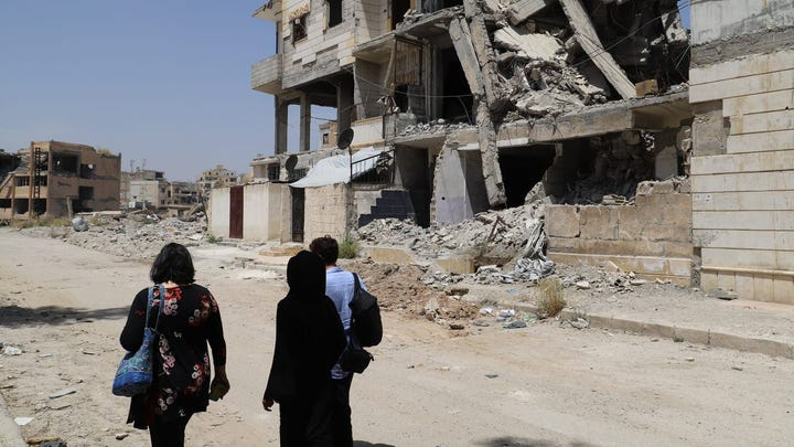 US-led coalition airstrikes destroyed Raqqa. I met the women we've abandoned there.
