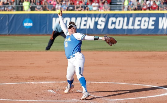 UCLA crushes Oklahoma in Game 1 of Women's College World Series