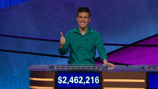 "James Holzhauer's ""Jeopardy!"" reign has come to an end."