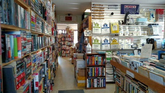 Paperback Book Exchange had a side business selling Kirby supplies