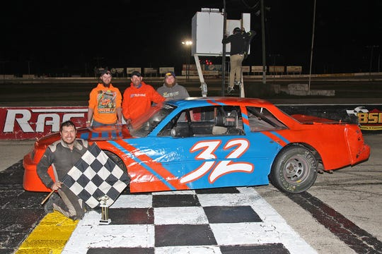 """Hilbert's Mike """"Showstopper"""" Meyerhofer has recommitted himself to the popular Figure 8 division weekly at Wisconsin International Raceway in Kaukauna."""
