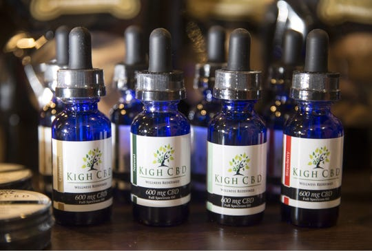 Kigh of Howell is a company that offers cannabidiol products made to keep humans and animals healthy. Paws Pet Boutique in Asbury Park sells the local company's products.