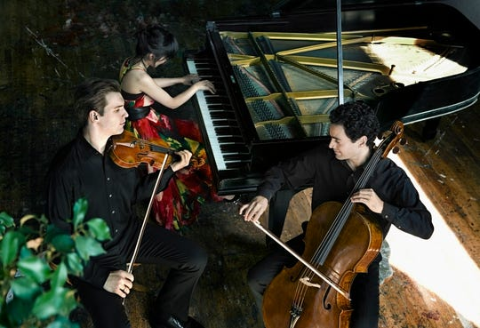 Horszowski Piano Trio will perform on opening weekend of the new season of Chamber Music Society of the Carolinas.