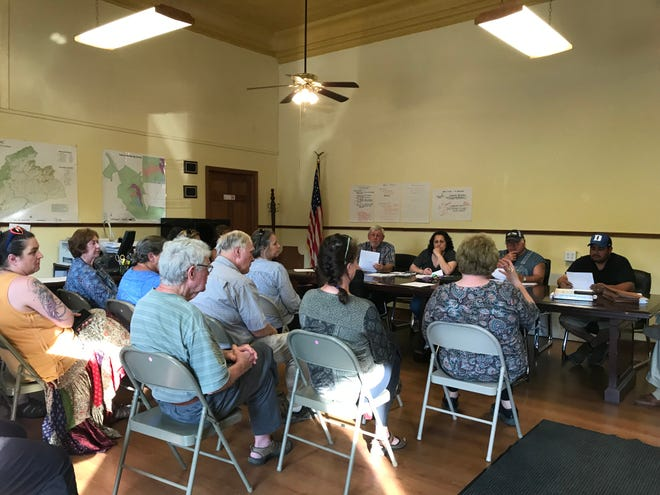Nearly every seat inside Hot Springs City Hall was filled for the June 3 town meeting.