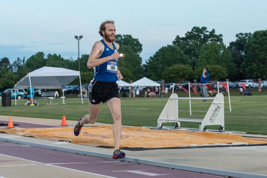 Blanton Gillespie runs for the UNC Asheville track team.