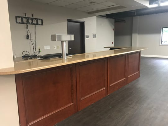 Catering Zone 225 already comes complete with a bar, which will be used by the upcoming Boho Comedy Club.