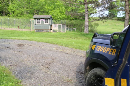 A suspect was arrested Tuesday, June 4, 2019 after a Kirkwood manhunt. He was spotted by Broome County Historian Roger Luther in his chicken coop.