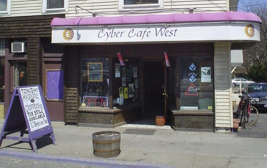 Cyber Cafe West, pictued in 2005, is at 176 Main St. in Binghamton.