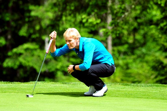Trish Johnson is the defending champion at the Suquamish Clearwater Legends Cup golf tournament. The 36-hole event begins June 7 at White Horse Golf Club.