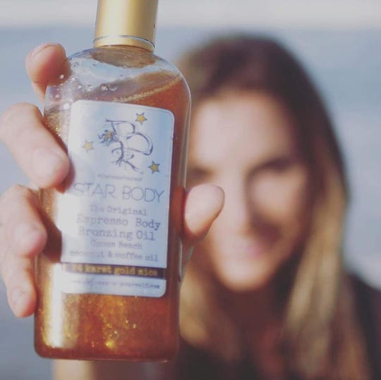Melbourne-based Star Body Espresso Yourself's Espresso Bronzing Body Oil will be in the gift baskets for attending celebrity nominees, presenters and performers at the MTV Movie and TV Awards.