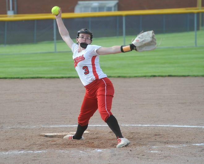 Bucyrus' Caleigh Rister led the area in strikeouts with 211.