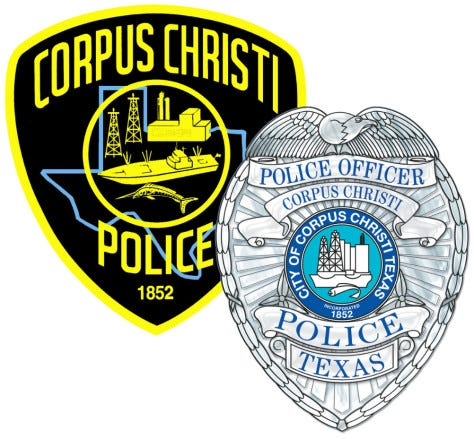 Corpus Christi Police Department badge