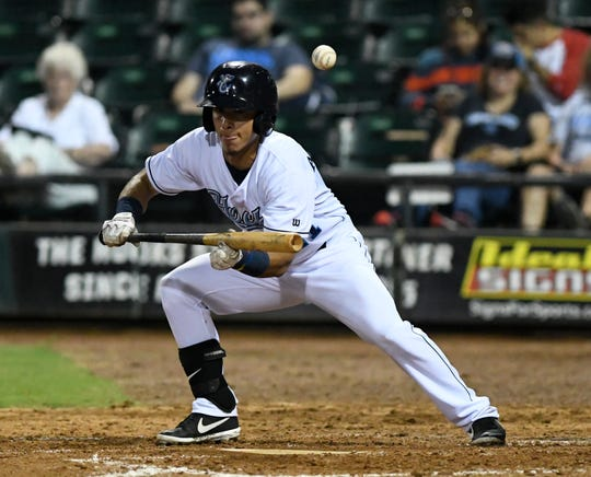 The Corpus Christi Hooks take on the Midland RockHounds in a Texas League Series, Tuesday, June 4, 2019, at Whataburger Field.