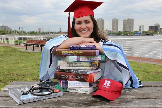 Moorestown native Brooke Trigiani recently graduated from Rutgers University‒Camden with a degree in nursing. Her foot issues she dealt with since childhood contributed to her interest in the medical profession.
