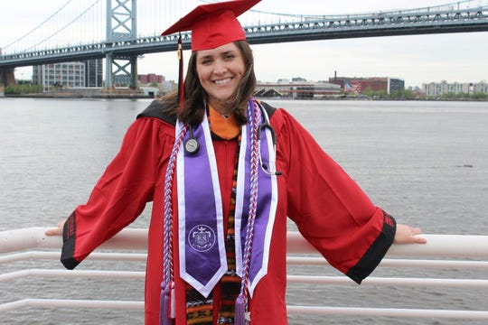 Brooke Trigiani of Moorestown recently graduated with a degree in nursing from Rutgers University–Camden. The profession has come naturally to her.