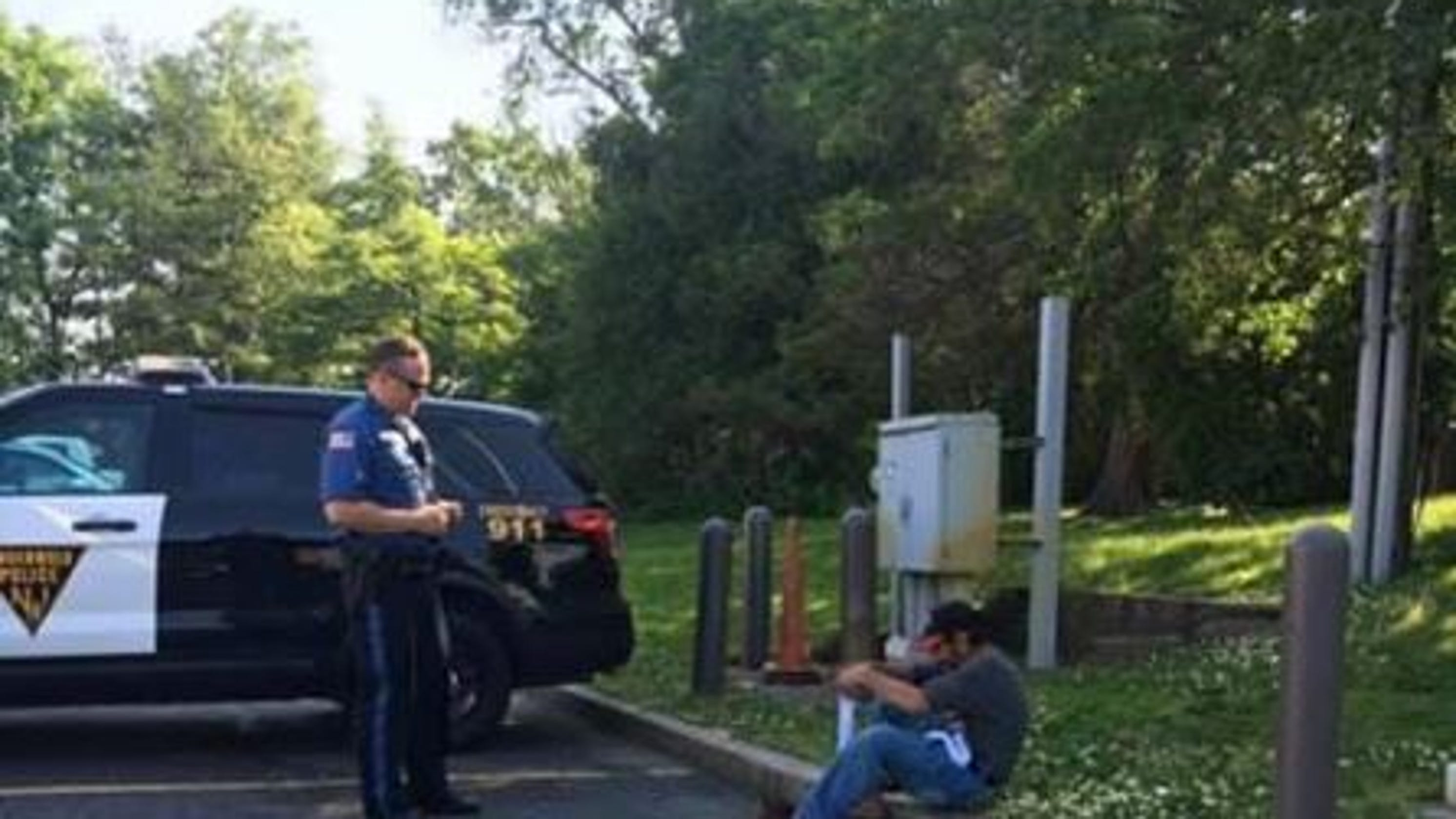 Random Act Of Kindness: NJ Officer Gives New Socks To