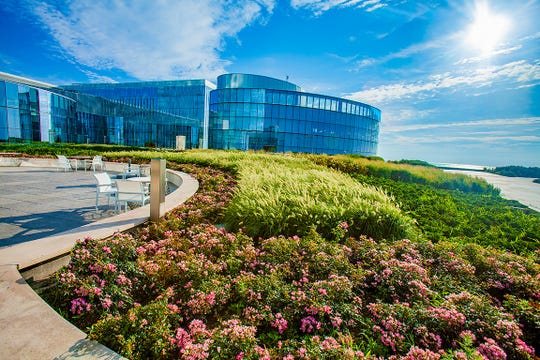 Ocean Casino Resort's Sky Garden.