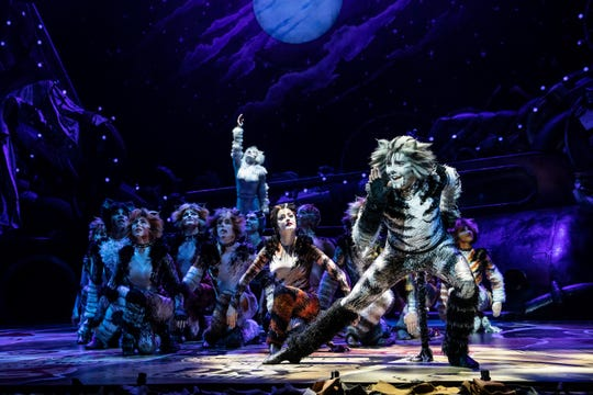 """Dan Hoy is featured in the role of Munkustrap in the North American Tour of """"Cats,"""" which opens at the Aronoff Center June 11."""