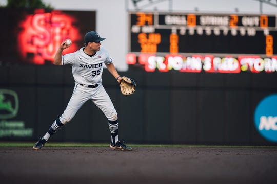 Xavier University shortstop Chris Givin was taken Wednesday in the 19th round of the MLB first-year player draft by the San Diego Padres.