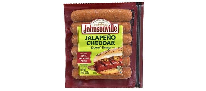 Johnsonville Jalapeno Cheddar Smoked Sausage being recalled.