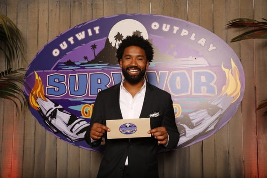 Wendell Holland, the winner of Survivor: Ghost Island, poses for a photo. For the first time in 36 seasons, the season finale of â??Survivor: Ghost Islandâ? ended in a tie. Host Jeff Probst on Wednesday, May 23, 2018, revealed jurors in Fiji were deadlocked at five votes apiece for Holland and Domenick Abbate. It was up to the third member of the final three to break the tie and Laurel Johnson cast her vote for Holland. (Monty Brinton/CBS via AP)