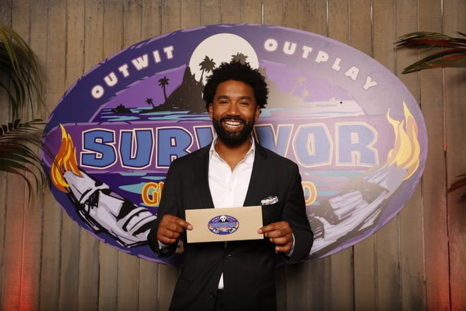 Wendell Holland, the winner of Survivor: Ghost Island, poses for a photo. For the first time in 36 seasons, the season finale of â??Survivor: Ghost Islandâ? ended in a tie. Host Jeff Probst on Wednesday, May 23, 2018, revealed jurors in Fiji were deadlocked at five votes apiece for Holland and Domenick Abbate. It was up to the third member of the final three to break the tie and Laurel Johnson cast her vote for Holland. (Monty Brinton/CBS via AP)