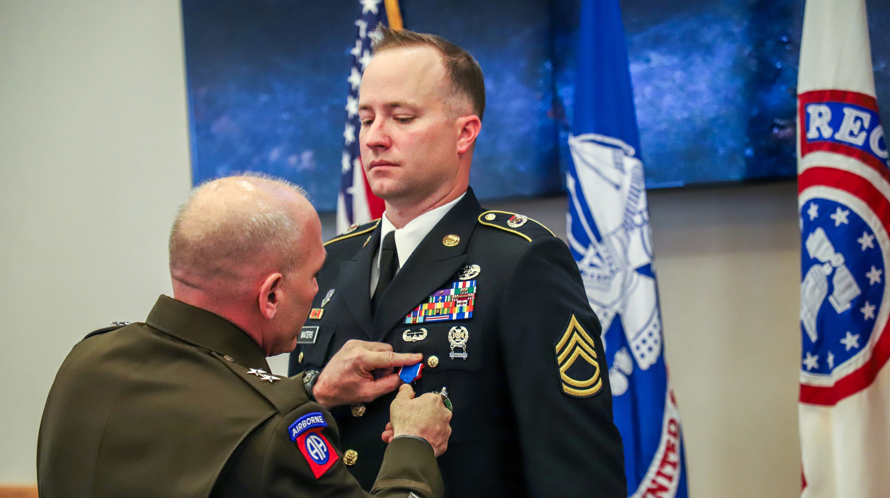 Army Medic Gregory Waters Awarded Distinguished Service Cross