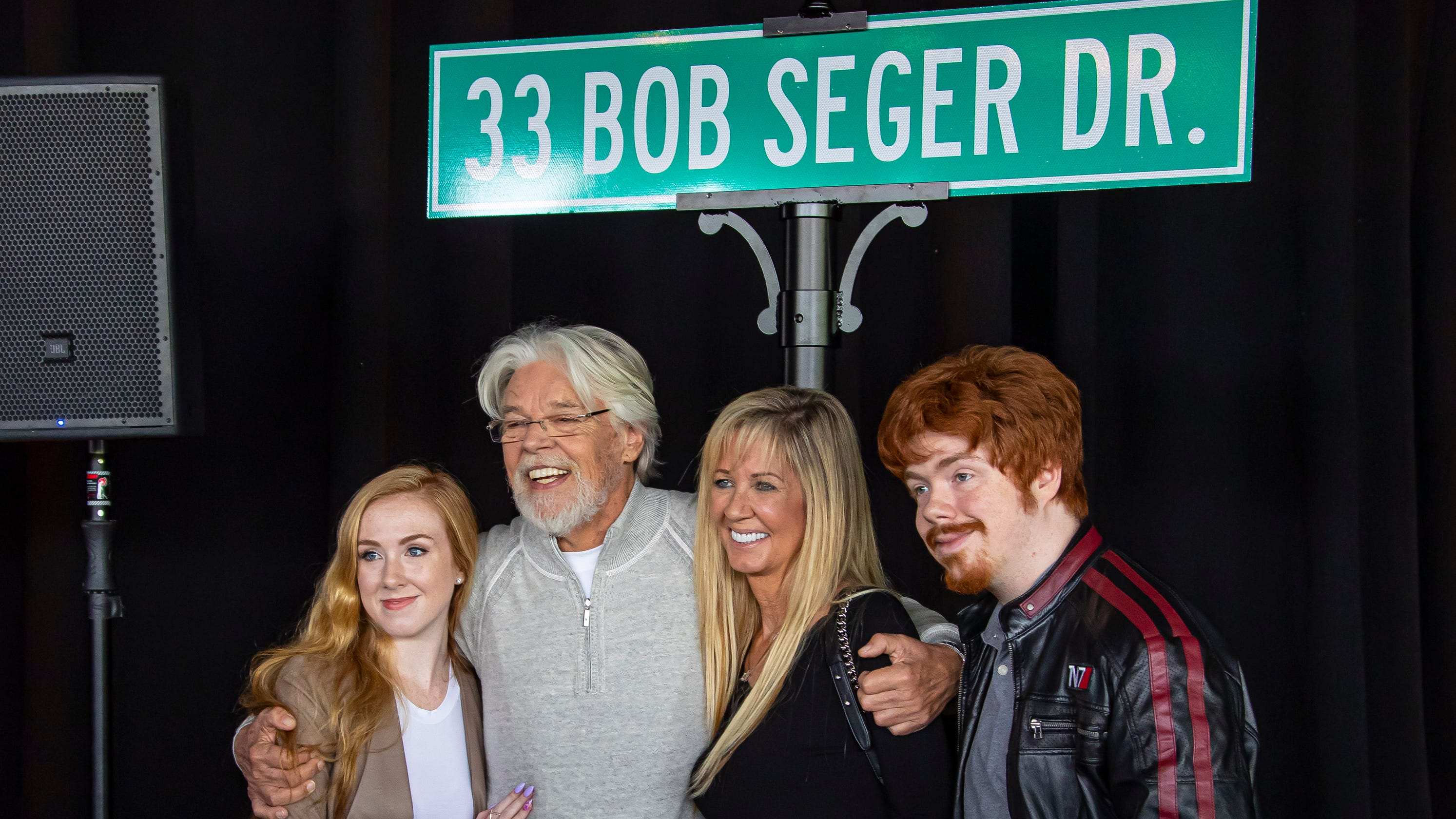 DTE Energy Honors Bob Seger With Street Naming