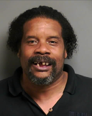 Christopher Harrison, 55, of Detroit, was arraigned Wednesday in Clinton Township District Court on a felony assault charge in connection with a Tuesday sword attack outside an apartment complex in Mount Clemens