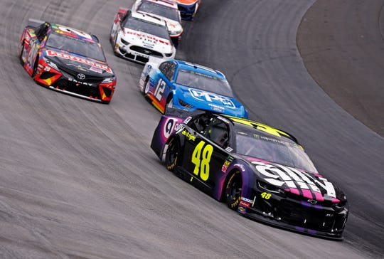 Jimmie Johnson is a seven-time NASCAR Cup champion.