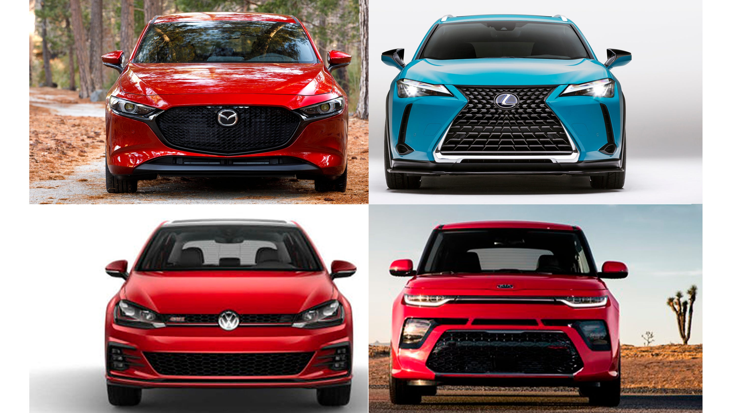 Kia Bill Pay >> Payne: Hot-hatch Lexus UX F Sport vs. VW GTI, Mazda 3 and ...