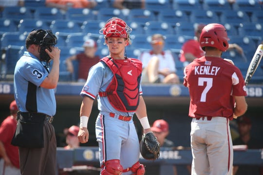 The Tigers' sixth-round pick, Cooper Johnson, is a catcher whose a plus defender, but not on the hitting side.