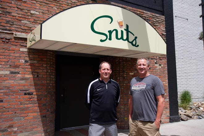 Tony Longin and Mark Fought, owners of Snits