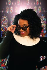 "Latisha Hamilton stars in the Hub City Players production of ""Sister Act."""