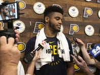 Juwan Morgan faces questions about 3-point ability at Pacers workout