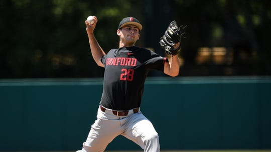 Stanford freshman Alex Williams has eight wins this season and has been a staple on the Stanford pitching staff.