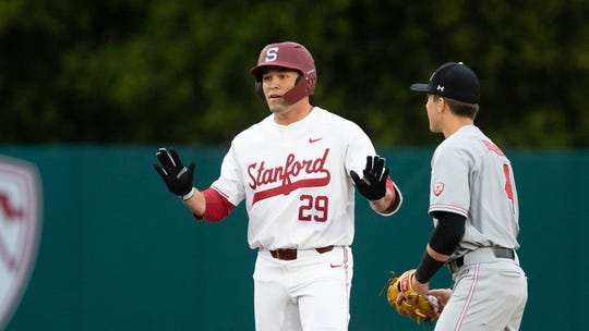 Stanford senior outfielder Brandon Wulff leads the team in home runs this season with 19.