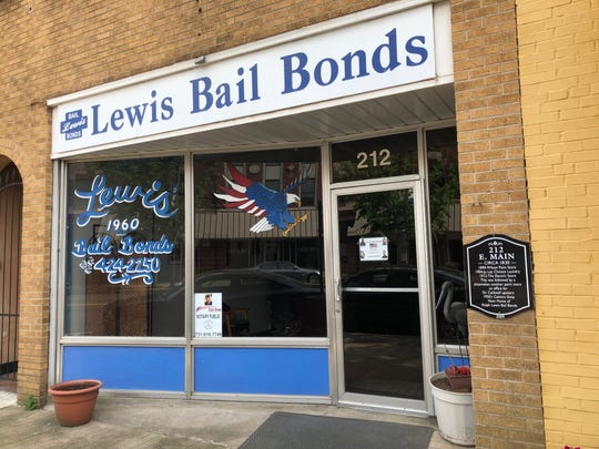 Darryl Lewis, owner of Lewis Bail Bonds in Jackson, was arrested Tuesday after a Madison County grand jury indicted him on one count of property theft and one count of tax evasion.
