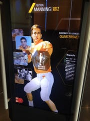 Peyton Manning is one of 23 former Tennessee Volunteers enshrined in the College Football Hall of Fame.
