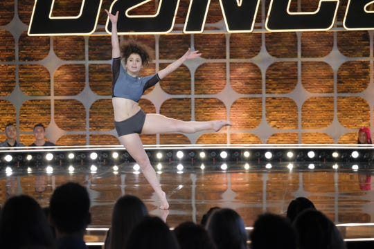 "Knoxville's Caroline De La Rocha tries out for ""So You Think You Can Dance."""