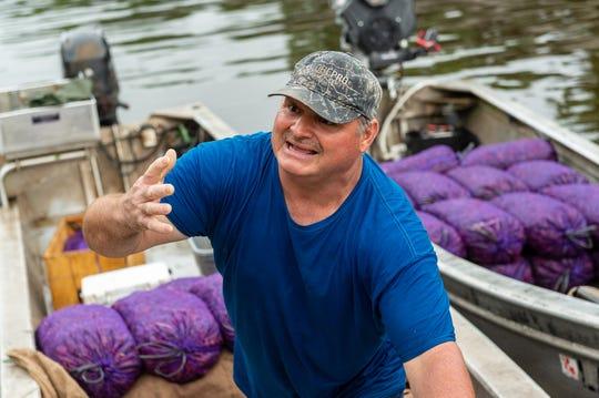 Fisherman Jody Meche at Whiskey Bay. Wednesday, June 5, 2019.
