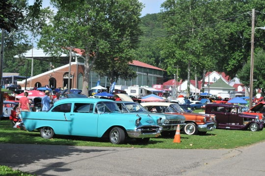 The 33rd annual Earth Angel Foundation Cruise-In will be June 15 at the Fairfield County Fairgrounds. Classic cars will line the fairgrounds like they did in this Eagle-Gazette file photo.