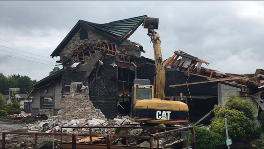 Ocean Buffet is being demolished on Lexington-Springmill Road this week by local contractor Ron Speck to make way for a new strip mall to include Panda Express. Ontario zoning inspector Adam Gongwer said he does not yet have any official paperwork on Five Guys restaurant.