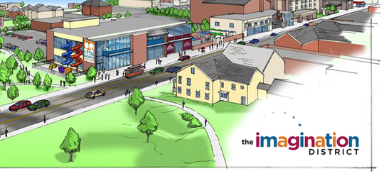 A promo image of the Imagination District submitted by Little Buckeye Children's Museum.