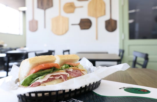 Fino's officially reopens its doors Wednesday under new ownership with Todd English running the deli as manager. All the sandwiches — available as whole or half — are served on the same crusty and chewy French bread from La Baguette that the original owners used.