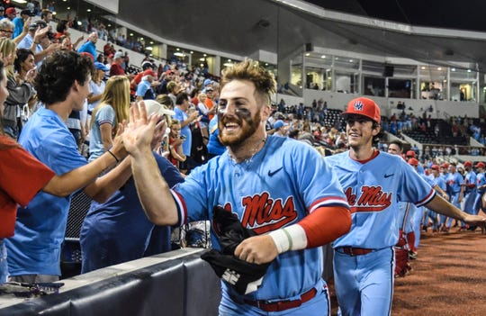 Mississippi's Thomas Dillard is known more for his bat and he played more left field last season than he caught, but the Brewers plan to try him as a catcher.