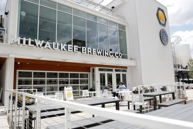 The new Milwaukee Brewing on North 9th Street.