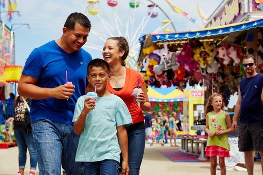 The Wisconsin State Fair runs August 1 - 11.