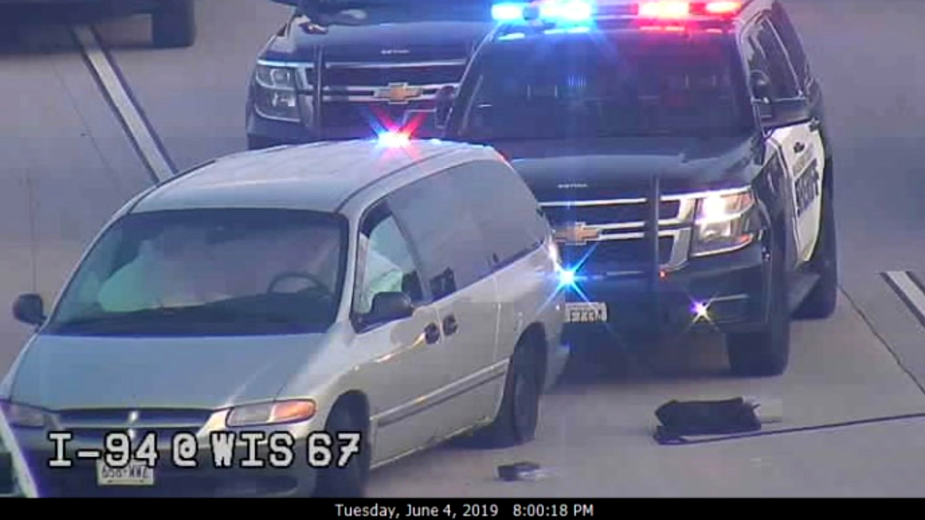 I-94 standoff: Incident started with attempted stop of stolen van