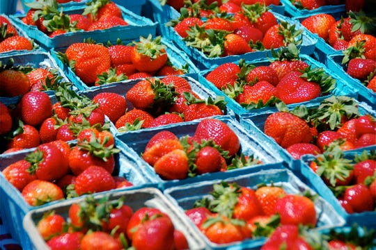 Berries, berries everywhere at Cedarburg's Strawberry Festival, set for Saturday and Sunday in downtown Cedarburg.
